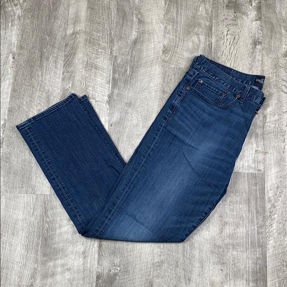 Lucky Brand Other - Lucky 121 Heritage Slim medium wash jeans - 34x30